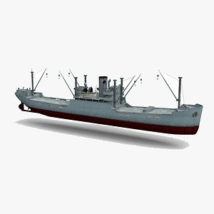 3D steel structure ship