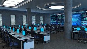 3D Control Room, Monitoring Room
