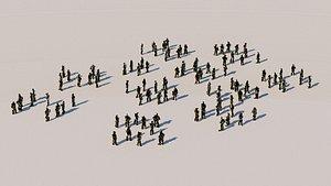 crowd mutant model