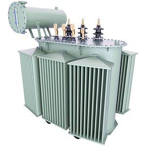 transformer power soviet 3D model