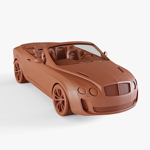 bentley continental supersports 3D model