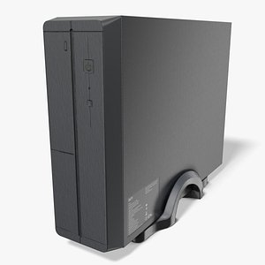 desktop computer case 3D model