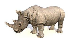 rhinoceros animations 3D model
