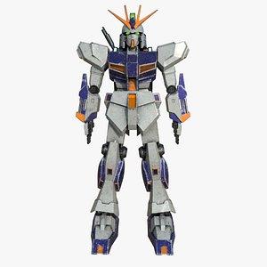 gundam rx-93 3D model