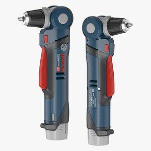 cordless angle drill 3D model