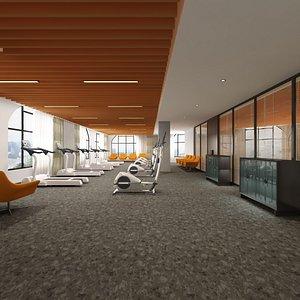 3D room treadmill elliptical