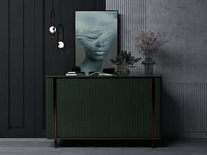 3D Modern Style Console - 016