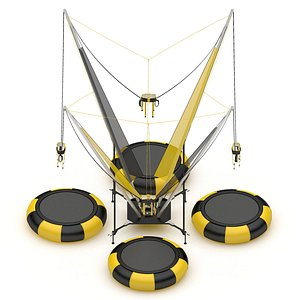 Bungee Trampoline 3D