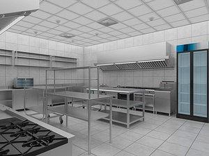 Commercial Kitchen 7 3D model