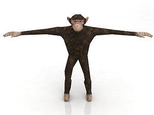 Chimp 3D model
