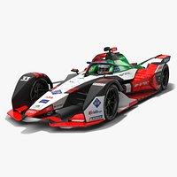 Audi Sport ABT Schaeffler Formula E Season 2020 2021 Race Car