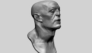 fantasy head 3D