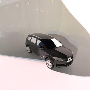 3D model Audi Q7 Car 3D Model