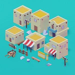 3D arab city model