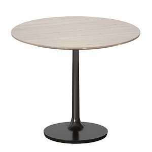 dining table nero brown 3D model