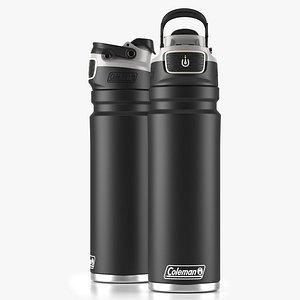 Coleman autoseal water bottle Black 3D model