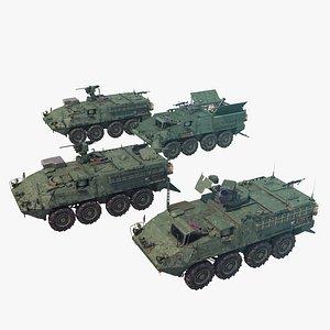 3D Stryker Pack 1