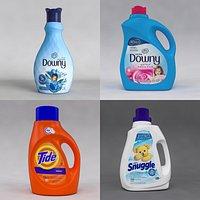 Detergent Bottles Collection