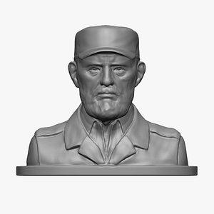 Fidel Castro 3D print model