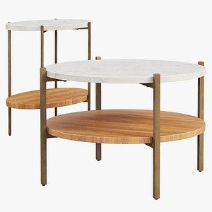 Joybird Savi Coffee Tables 3D model