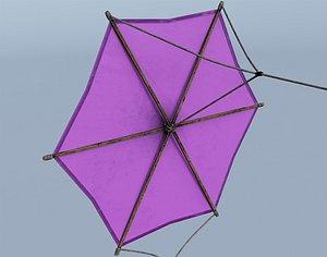 3D Wooden Kite