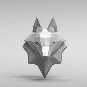 3D print fox head