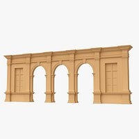 Arch and Window Panel  011-1
