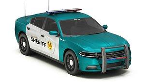 Car Police 8 3D model