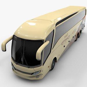 3D model shuttle bus etihad