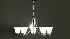 3D model Dining Room Light Fixture