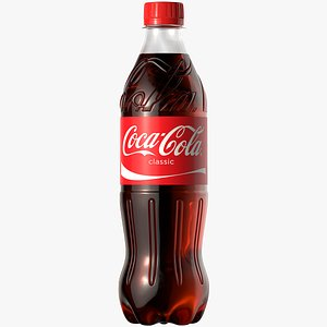 Coca Cola Plastic Bottle 3D