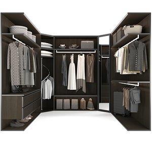 3D wardrobe 2 model
