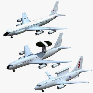 3D model recon aircraft nato