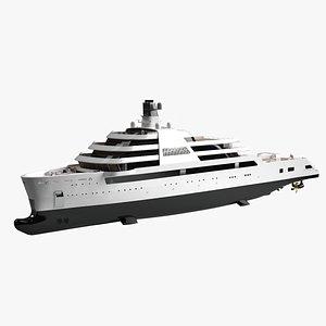 Solaris Explorer Yacht Dynamic Simulation 3D model