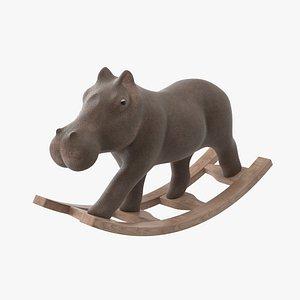 rocking hippo model