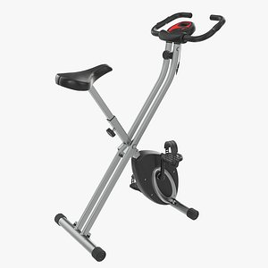 3D trainer fitness bike model