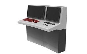 EDP Monitor Computer 3D