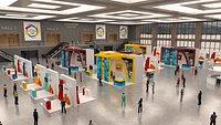Virtual Event Exhibition Center Hall