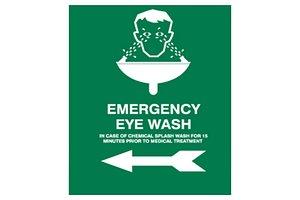 Eye Wash Sign Board 3D model
