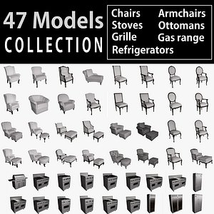 chairs armchairs ottoman stoves model