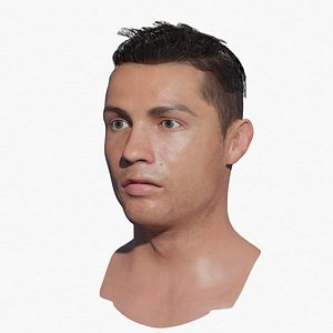 Cristiano Ronaldo Head 3D model