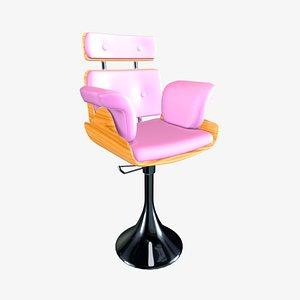 chair nail salon 3D model