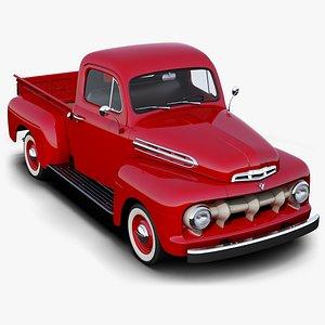 3D Ford F-1 model