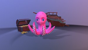 rig animations 3D