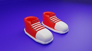 3D shoes characters