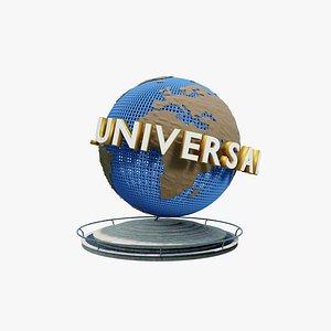 3D universal studios model