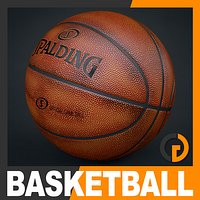 Spalding Official Used Basketball Game Ball