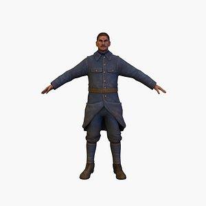 soldier fra model