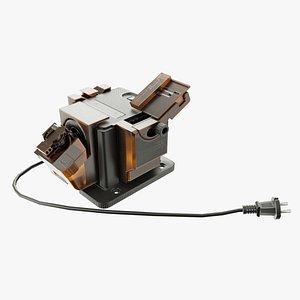 3D model electric grinder
