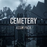Cemetery - Assets Pack - Blender, FBX and OBJ